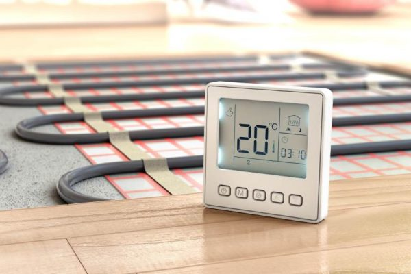Underfloor heating in Boston Lincs